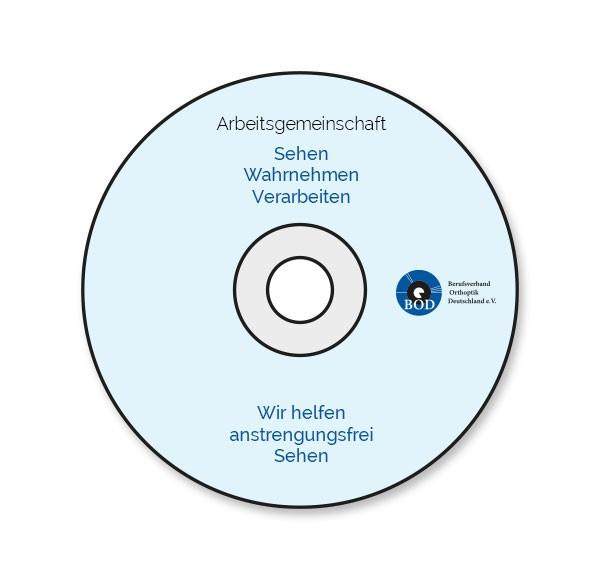 """CD der AG S-W-V """"Wir helfen anstrengungsfrei Sehen"""" Information für Eltern und interdisziplinäre Be"""