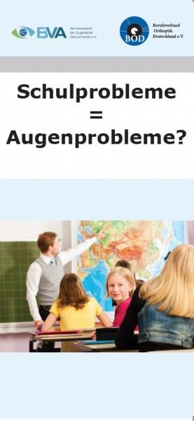 Schulprobleme - Augenprobleme? (ca. 55 St.)